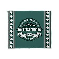 "Stowe ""Vermont Green"" Throw Blanket"