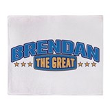 The Great Brendan Throw Blanket
