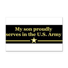 Unique Army son Rectangle Car Magnet