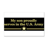 Soldier Rectangle Car Magnet