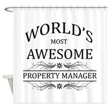 World's Most Awesome Property Manager Shower Curta