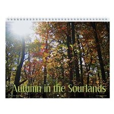 Autumn in the Sourlands Wall Calendar