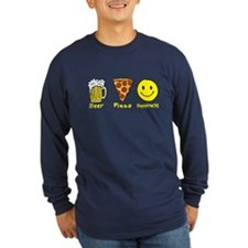 Beer Pizza Happiness T