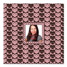 Personalized Add Your Own Image Square Car Magnet