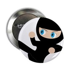 "Ninja 2.25"" Button (10 pack)"
