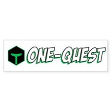 One-Quest Bumper Bumper Sticker