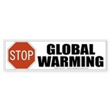 Global Warming Bumper Bumper Sticker