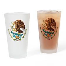 Mexico COA Drinking Glass