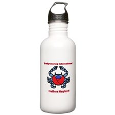 Crab Logo Water Bottle