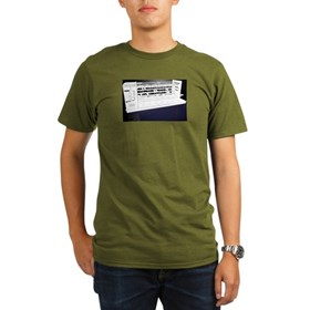 Organic Men's T-Shirt (dark) Digi Comp-1 sketch
