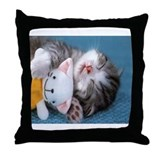 Cute & Adorable Throw Pillow