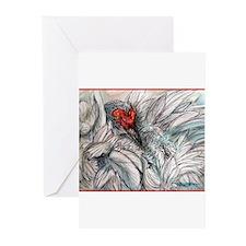 Sandhill Crane! Bird art Greeting Cards (Pk of 20)
