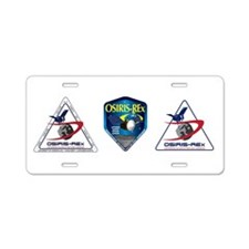 Spitzer Space Telescope Aluminum License Plate