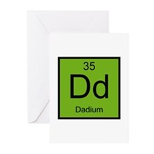 Dadium Element Greeting Card