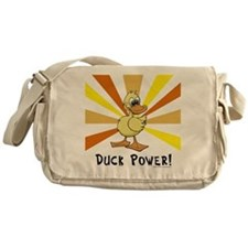 Duck Power Messenger Bag
