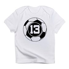 Soccer Number 13 Player Infant T-Shirt