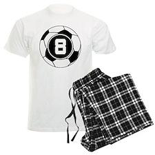 Soccer Number 8 Player Pajamas