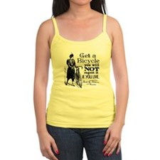 Twain Get A Bicycle Quote Tank Top