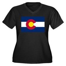 Colorado State Flag Plus Size T-Shirt