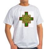 "*2-SIDED* ""Celtic Cross"" Mens Tee T-Shirt"