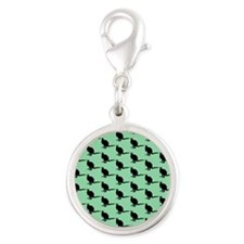Wallaby Pattern, Green. Charms