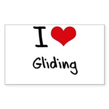 I Love Gliding Decal