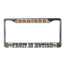 Cute Fruits frame License Plate Frame