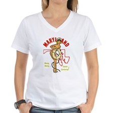 Vintage Maryland Pinup Shirt
