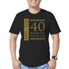 Fancy Vintage 40th Birthday T