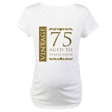 Fancy Vintage 75th Birthday Shirt