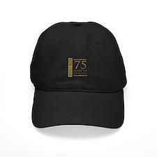 Fancy Vintage 75th Birthday Baseball Hat