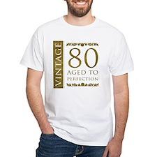 Fancy Vintage 80th Birthday Shirt