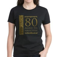 Fancy Vintage 80th Birthday Tee