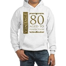 Fancy Vintage 80th Birthday Hoodie