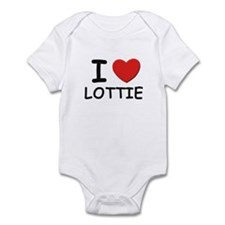 I love Lottie Infant Bodysuit