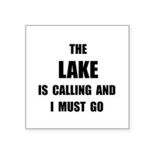 Lake Calling Sticker