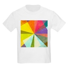 Earthy geometric background i - T-Shirt