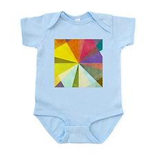 Earthy geometric background imag - Infant Bodysuit