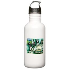 Boston Terrier birthday party Water Bottle