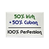 Irish & Cuban Rectangle Magnet