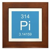 Pi Element Framed Tile