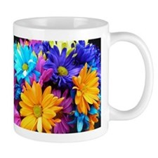 Neon Bouquet Arrangement Mug