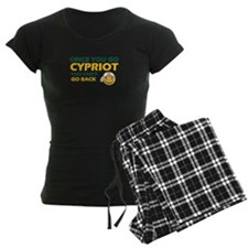Funny Cypriot flag designs Pajamas
