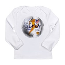 US Soccer Champs 2008 Long Sleeve Infant T-Shirt