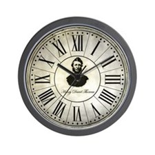 Henry David Thoreau vintage Wall Clock