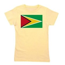 Flag of Guyana Girl's Tee