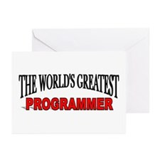 """The World's Greatest Programmer"" Greeting Cards ("