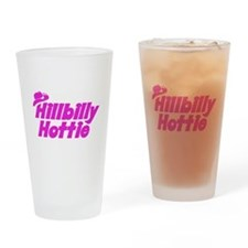 Hillbilly Hottie Drinking Glass