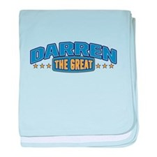 The Great Darren baby blanket