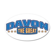 The Great Davon Wall Decal